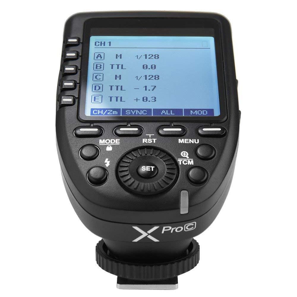 [EU Stock]Godox Xpro-C TTL Wireless Flash Trigger for Canon Camera