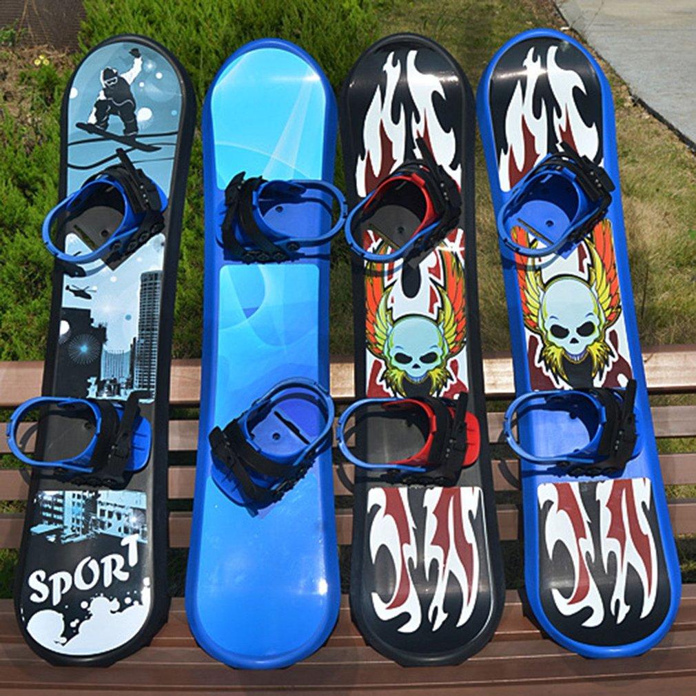 Sports de plein air 95/110/128CM plastique Freestyle planche simple bidirectionnelle neige herbe sable planche pour enfants et adultes