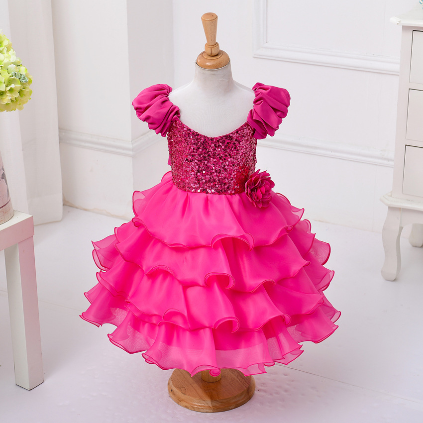 Подробнее о 2016 New Summer Wedding Party Girls Dress Princess Baby Clothes Formal Children Toddler Baby Clothing Kids Dresses For Girls new girls dress children clothing petals hem toddler girl dresses wedding formal party princess dress kids clothes for 3 8 yrs