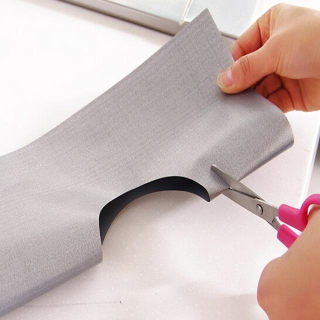 4Pcs Reusable Foil Gas Hob Range Stovetop Burner Protector Liner Cover For Cleaning Kitchen Tools