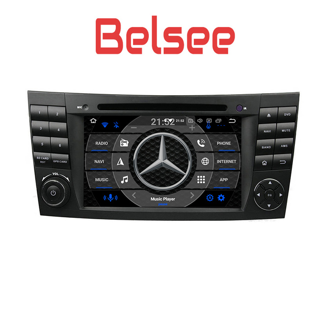 Wonderlijk Belsee Autoradio Android 8.0 Car Radio GPS for Mercedes Benz E CZ-65