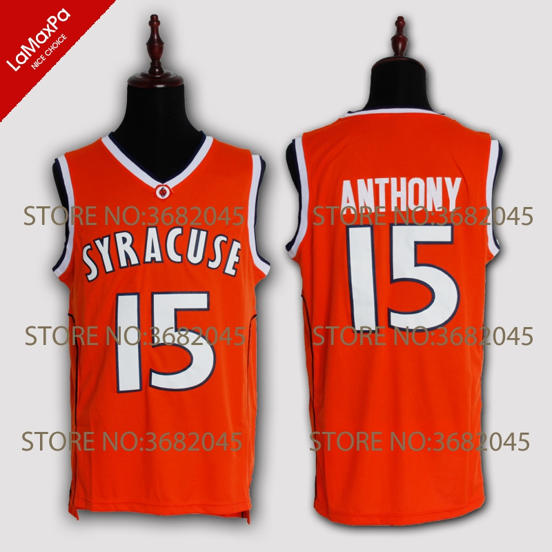 sports shoes 40937 5fd7b top quality ncaa basketball jerseys syracuse orange 15 ...