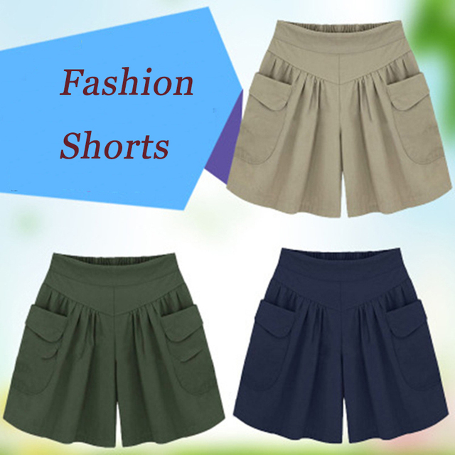 European American New Fashion Summer Womens Casual Shorts Large Size Shorts XL-5XL Comfortable Breathable Shorts 110Kg 3