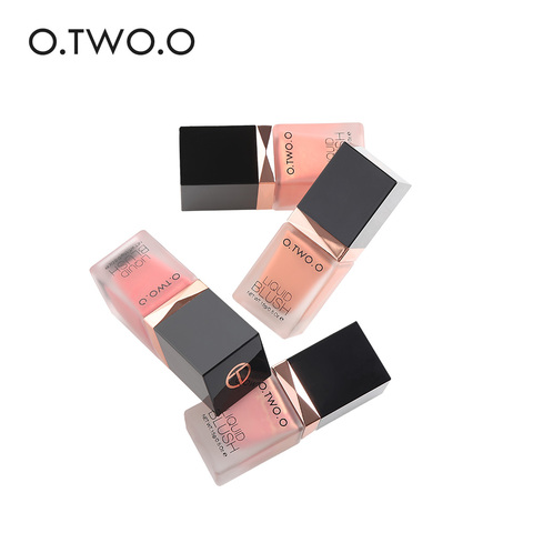 O.TWO.O New Makeup Press the bottle Liquid Blusher 4 Color Long lasting Face Contour Make Up Easy to Wear Natural For Face Blush Multan