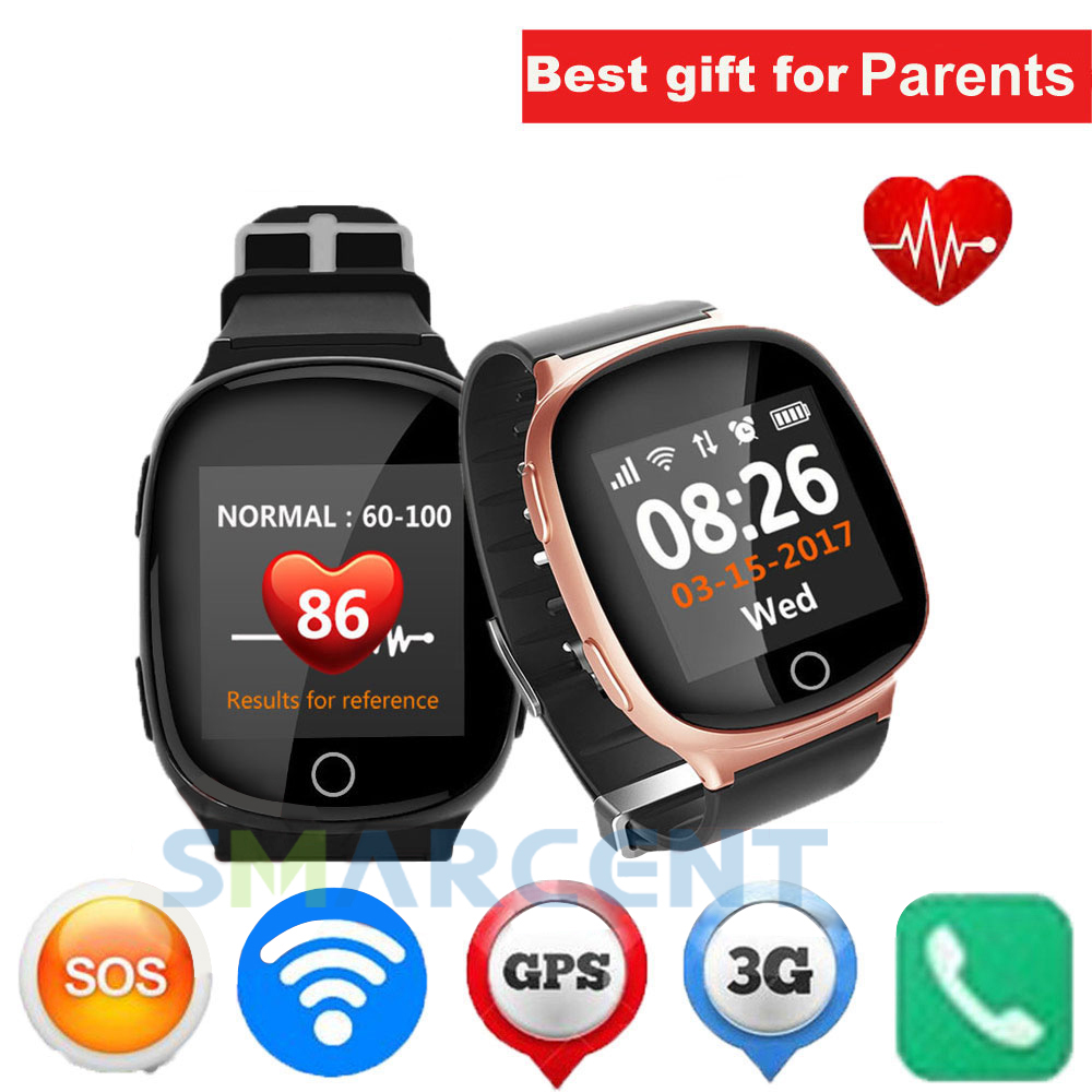 New Elderly Smart Watch GPS+LBS+WIFI Positioning Anti-lost Heart Rate Sports Tracker Fall Alarm SOS Wristwatch for Old People new arrival gsm tracker gps collar car gps tracker positioning motorcycle theft anti lost satellite locator vt310