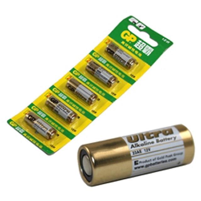 5 шт. GP 23AE GP 23a mn21 A23 v23ga vr22 щелочных Батарея Батареи 12 В 23a t0.11