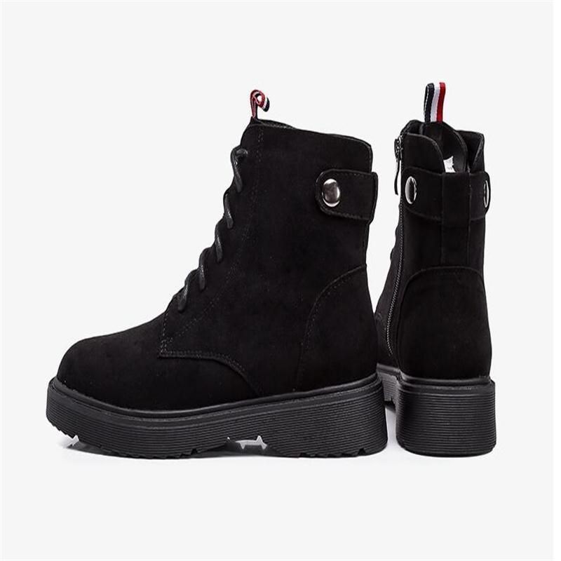 Martin boot female ankle boot autumn winter 2018 new retro style student Korean version versatile single clack boot size 34-43