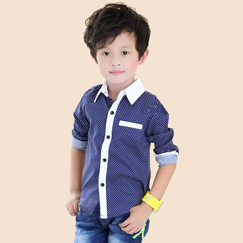 77b416f02ab44 Online Shop 2015 New Fashion Baby Boys Shirts Designer Brand Long Sleeve  Shirts For Baby Children S Clothing Kids Clothes Top C03