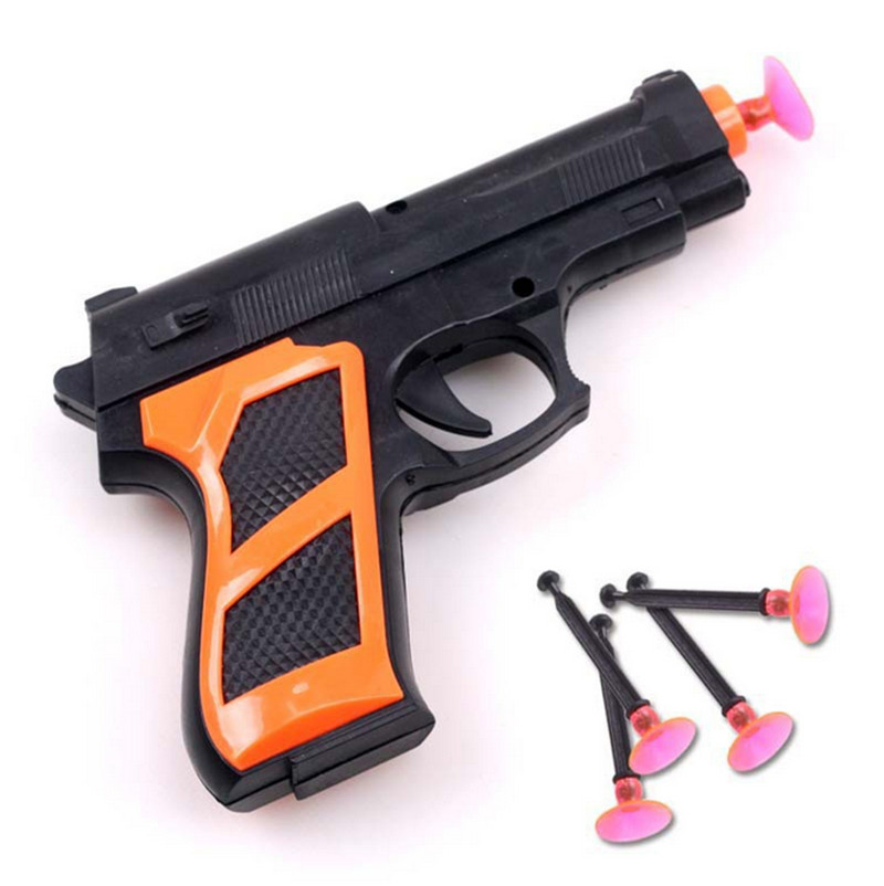 Simulation Soft bullet Collimator Guns Classic Toys children Nerf gun pistol  Boys Role Play Games for Children Birthday gifts-in Toy Guns from Toys ...