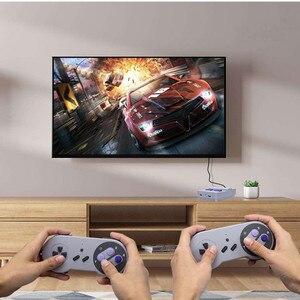 Image 4 - Mini ręczny telewizor z dostępem do kanałów i HDMI gra wideo konsola do gier podwójny 2.4G bezprzewodowy kontroler do gier 8 Bit Retro odtwarzacz z 500 w 1 klasyczne gry