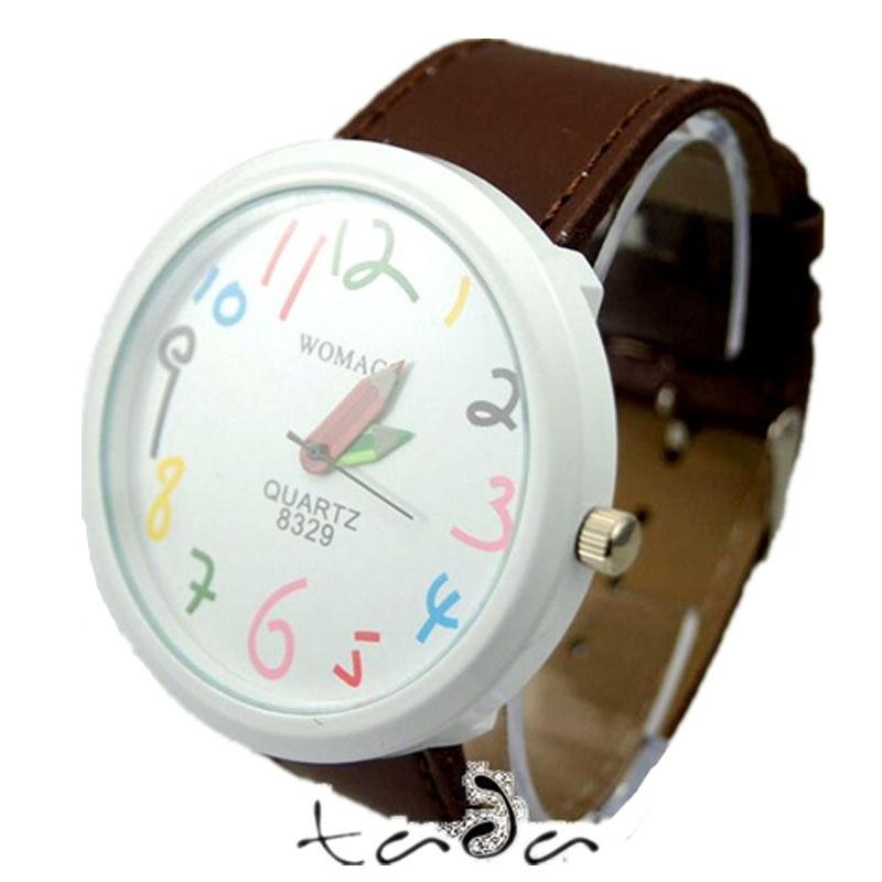 υψηλής ποιότητας καρτούν μολύβι χέρι - Γυναικεία ρολόγια - Φωτογραφία 2