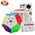 YongJun YJ Moyu Yuhu Megaminx Stickerless Velocidad Cubo Mágico De Plástico Venta Caliente Childern Educativos Rompecabezas Juguete