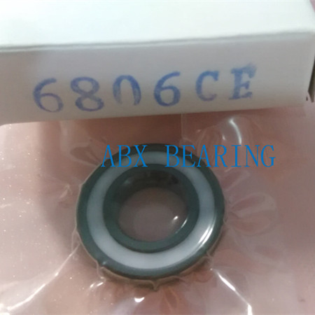 -2RS RS 61806 full SI3N4 ceramic deep groove ball bearing 30x42x7mm 61806-2RS bearing with seal 61806