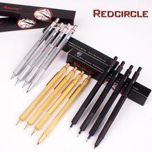 Crayon de rédaction automatique pour métaux en Graphite, 0.5/0.7/0.9/2.0mm, crayon mécanique pour enfants, fournitures scolaires, cadeaux