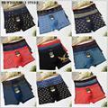 Men's Boxer Fashion 10 PCS Lot Wholesale Sexy Underwear Men Men's Boxer Shorts Bulge Pouch Underpants Plus size