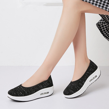 MIUBU 2019 Spring Women Flats Shoes Breathable Mesh Casual Shoes Woman Loafers Flats Heels Creepers Ladies Platform Sneakers women s platform shoes new spring casual woman weave shoes breathable girls handmade sapatos femininos loafers ladies shoes fx3
