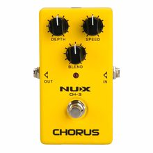 NUX CH-3 Analog Chorus Guitar Effect Pedal Chorus effects Pedal Low Noise BBD circuitry True Bypass free shipping(China)