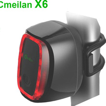 X6 USB Bicycle Rear Light Led Bike Tail Lamp Cycling Lights Rechargeable Waterproof 7 Modes Rain Water USB Light
