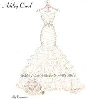 Ashley Carol Custom Wedding Dress online shop china customized Handmade buy china direct custom size Any wedding gowns
