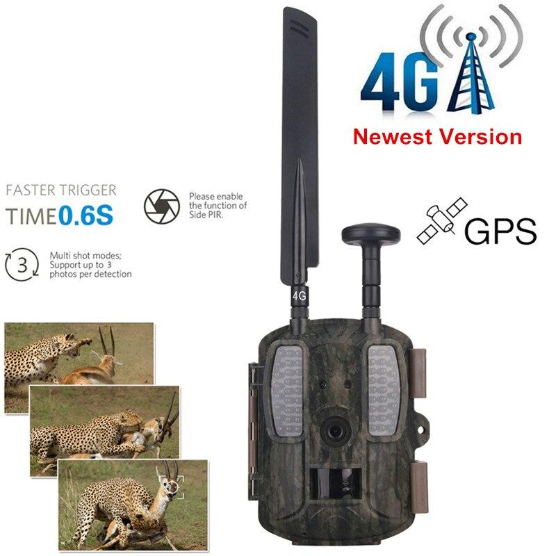 Hunting Camera Chasse 4G Photo-Trap Digital Video Camera Hunting 12MP 1080P Night Vision Email HunterCamera Support FTP GPS Cams