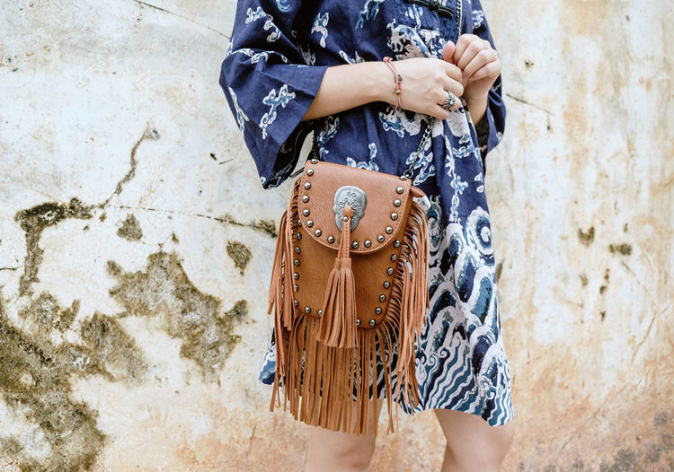 New Vintage Bohemian Fringe Messenger Crossbody Bag Purse Women Tassel Boho Hippie Gypsy Fringed Tote Handbag Womens (36)