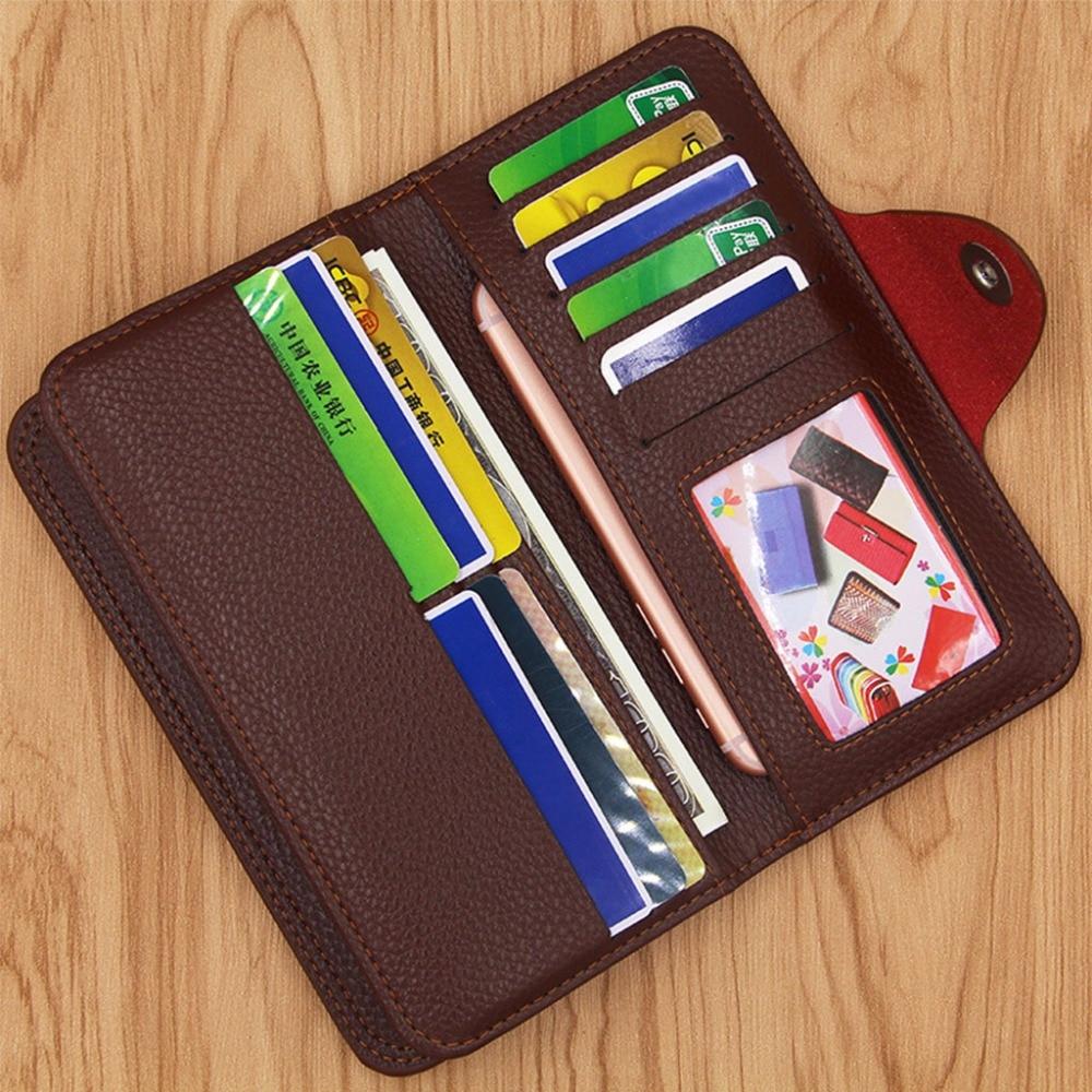 THINKTHENDO Men Wallet ID Credit Card Holder Coin Bag Fashion Design Hasp Purse Bifold Money Business Pockets Retro Luxury Brand