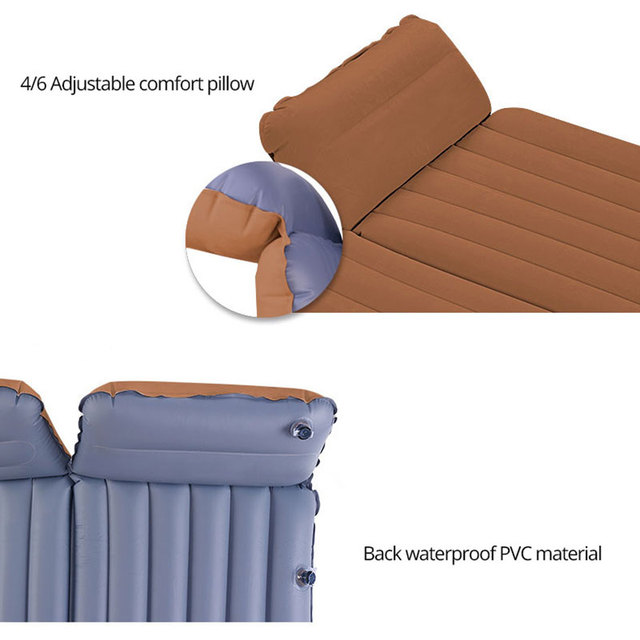 Car Air Mattress Back Seat Airbed