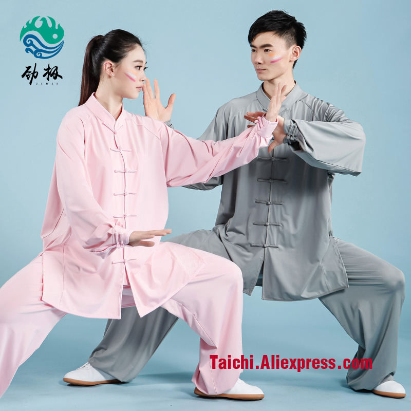 New Pattern Milksilk  Male & Female Tai Chi Uniform Wushu  Kung Fu Martial Art Suit