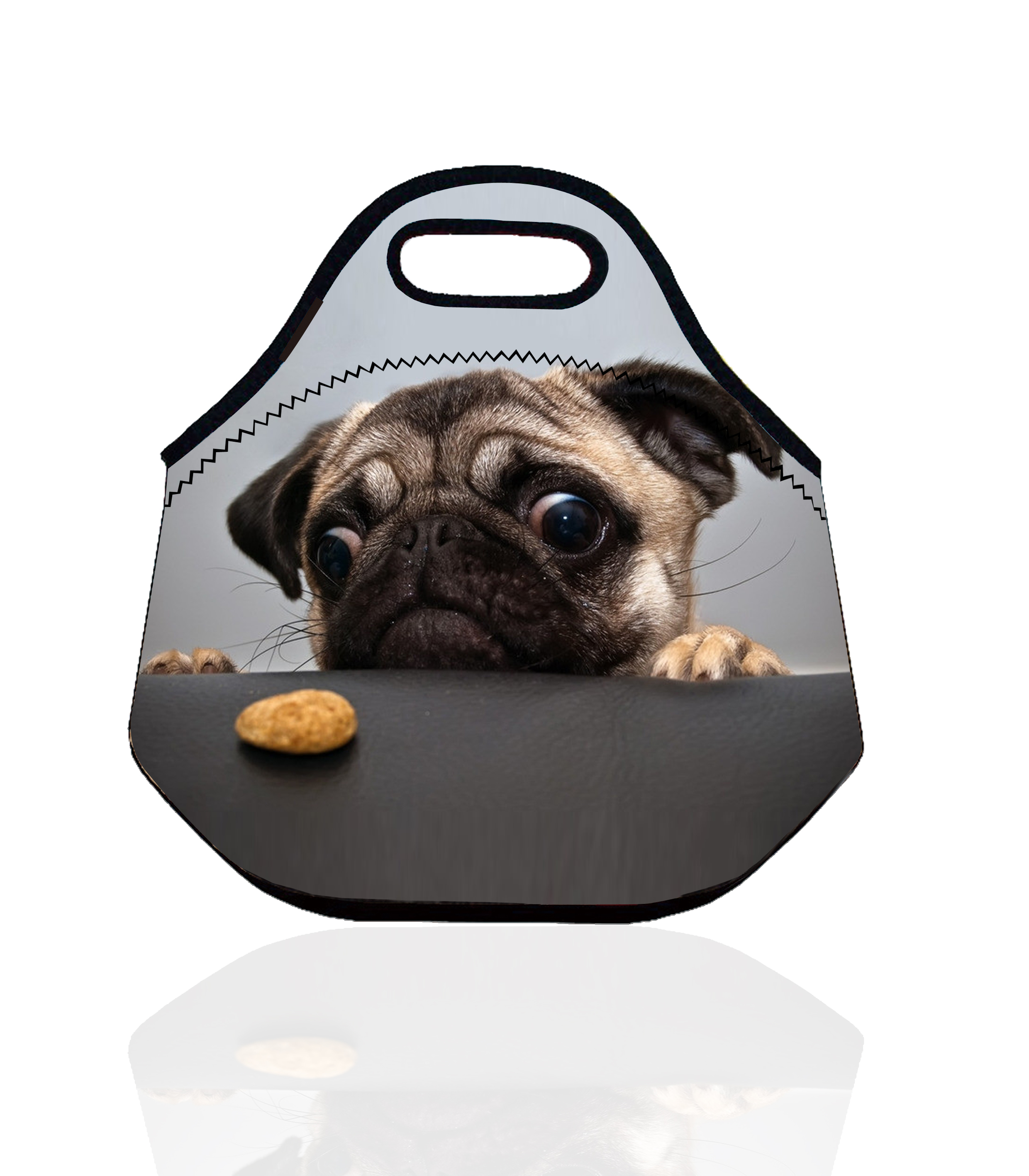 Dog Puppy Portable Insulated Storage Bag Thermal Food Picnic Lunch Bags for Women kids Men Lunch Box Bag Tote bolsa termica