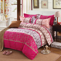 Bohemian Boho Fashion Pattern 3 4Pcs Bedding Sets Bed Line Bedspread Luxury Include Duvet Cover Bed