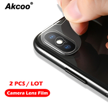 Akcoo Camera Lens film for iPhone XS max screen protector easy intal High transmittance 6 7 8 Plus XR lens films