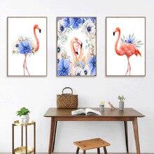 Diamond cross stitch diy diamond painting flamingo full drill embroidery mosaic flamingos 5D cartoon decoration