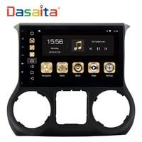 Dasaita 10 2 Android 8 0 Car GPS Radio Player For Jeep Wrangler 2015 2016with Octa