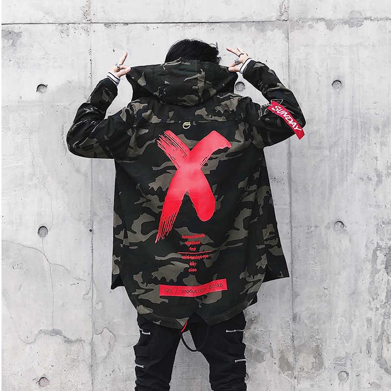 Демисезонный мужской пиджак верхняя одежда на молнии, Для мужчин s жакеты в камуфляжном оформлении, Повседневное модная куртка-штормовка для девочек Для мужчин Slim Fit с капюшоном L143