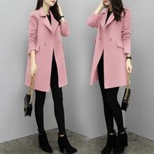 New Hot Sale Woman Wool Coat High Quality Winter Jacket Women Slim Woolen Long Cashmere Coats Cardigan Jackets Elegant Blend