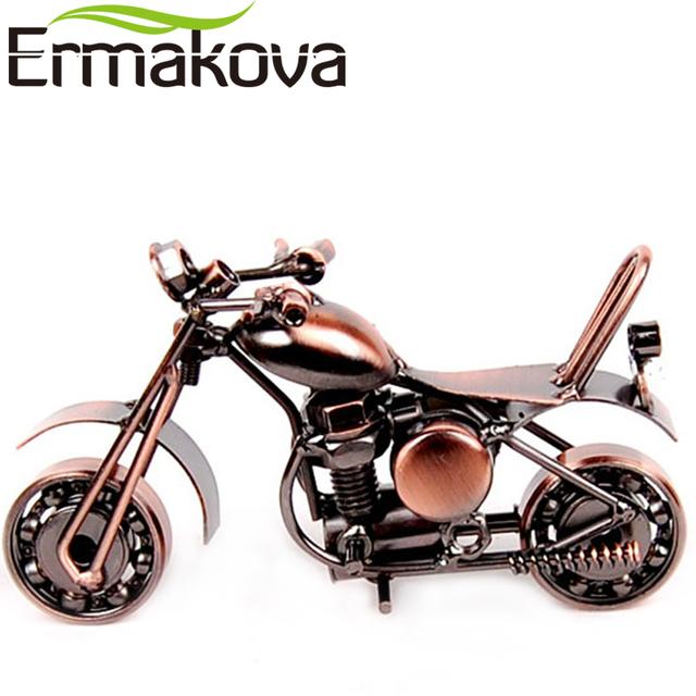 ERMAKOVA 14cm(5.5″)Vintage Motorcycle Figurine