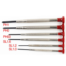 Mini Small Screwdriver Set with Slotted Phillips Bits for Multifunction Watch Glasses Screw driver Repair Tool цена