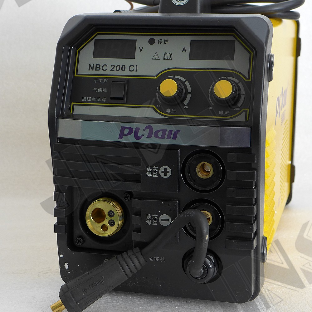 Mig 200 Mag Welder Flux Cored Gasless Welding Machine With Lift Parts Tig Function 4 In 1 Welders From Tools On