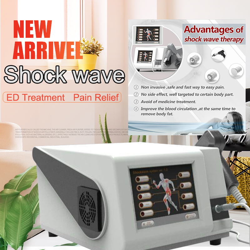 ESWT-KP Extracorporal Pneumatic Pressure Shock Wave Therapy Medical Equipment/Body Pain Relief Machine/Pain Treat Shockwave