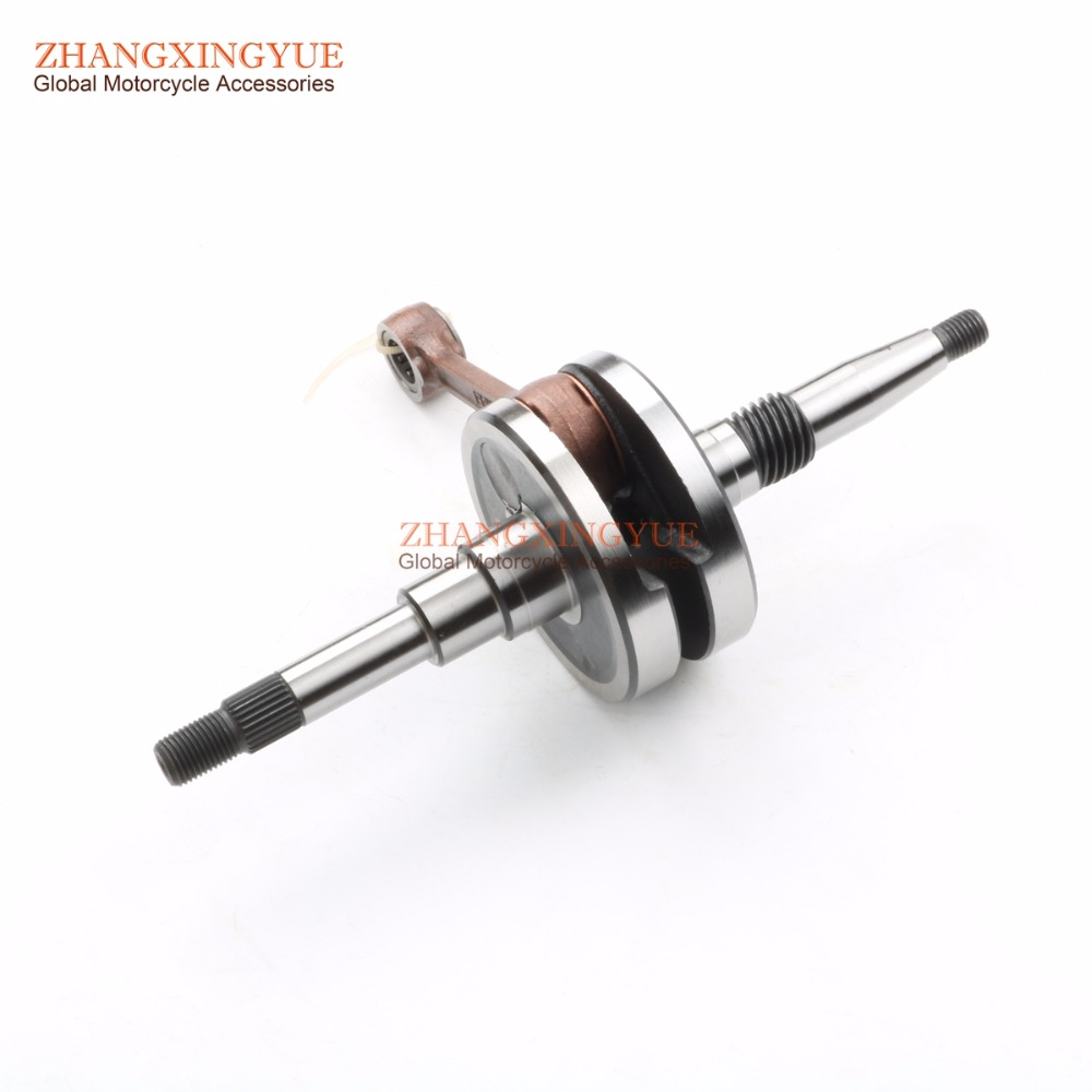 High quality motorcycle crankshaft for KYMCO Euro2 Dink Classic Heroism People Euro2 People S Super 9 Sport Euro2 50cc heroism