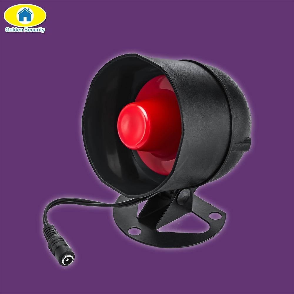 Golden Security 110dB Volymjusterbar Siren Alarm System - Säkerhet och skydd - Foto 3