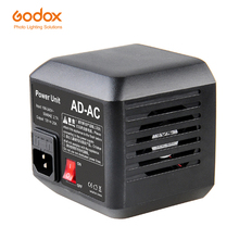 Godox AD AC التيار المتناوب وحدة الطاقة مصدر محول مع كابل ل AD600B AD600BM AD600M AD600 SLB60W SLB60Y