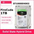 Игровой жесткий диск Seagate 1 ТБ FireCuda ST1000DX002, 3,5 дюйма, SSHD (твердотельный гибридный диск), 7200 об/мин, SATA, 6 кэш-памяти, 64 Мб hdd