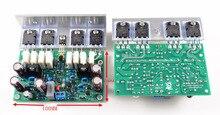 Ljm áudio oi end l20 200 w 8r áudio stero placa de amplificador de potência com ângulo de alumínio (placa de amplificador montado, incluem 2 bobards)
