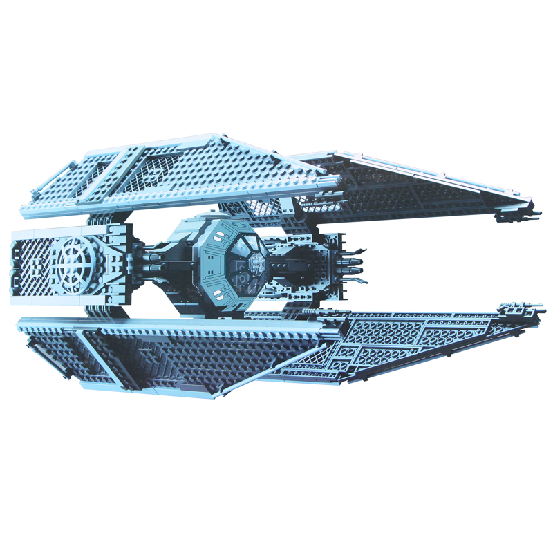 Star Building bricks Wars 05044 Star Plan Wars Limited Edition TIE Interceptor Set Model 733pcs Building Blocks Toys 05044 star ship wars limited edition tie interceptor model building kit blocks bricks toys compatiable with lego kid gift set