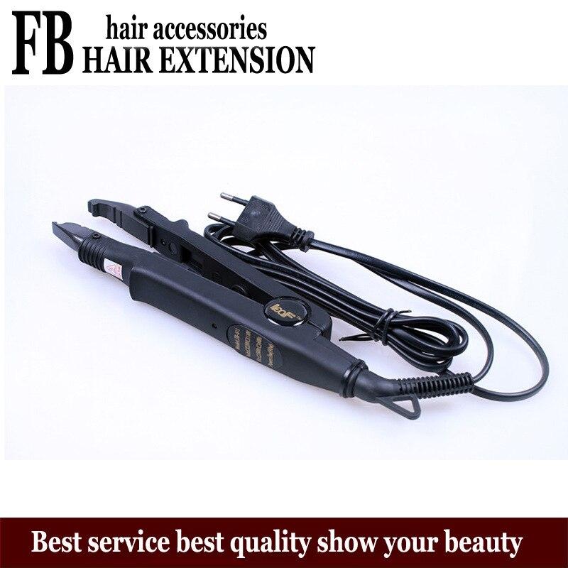 Loof Hair Extension Keratin Machine EU Plug Iron Device Bonding Extension Hair Fusion Tools