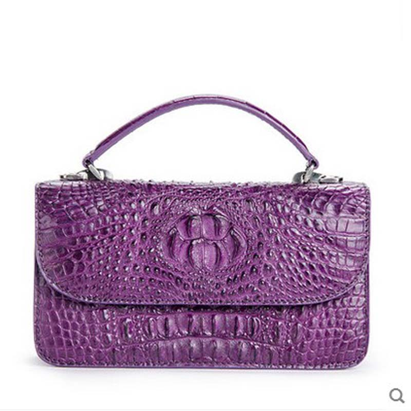 ouluoer new crocodile skin women handbag new alligator women bag small bag with small side women bag