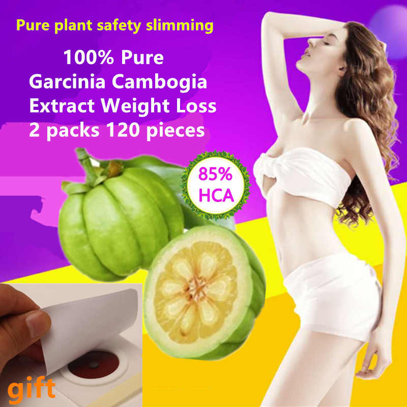 a3d90e1f8 2 Packs 120 pcs Pure Garcinia Cambogia Extract Nature Slimming Weight loss  Products Burning Fat Diet