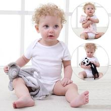 hot deal buy newborn baby towel soft infant baby soothing towel animal shape baby gifts plush muti-function training towel toys for baby care
