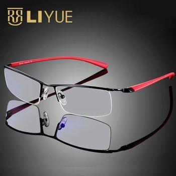 משקפיים מחשב מסגרת משקפיים גברים משקפי משקפיים משחקים אנטי ריי הכחול עדשה ברורה משקפיים משקפי משקפיים עמידים לקרינה 8199
